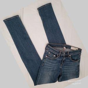 Rag & Bone High Rise Sloane Wash Skinny Jeans